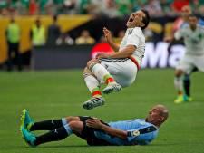 Rood Guardado deert Mexico niet tegen Uruguay