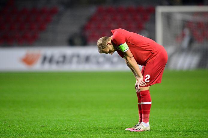 De Laet verloor gisteren met Antwerp tegen LASK Linz.