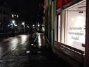 Boon's supermarkt in hartje Utrecht hoopte langer open te mogen, maar om 21.00 uur gingen de deuren noodgedwongen toch op slot.