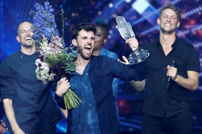 Duncan Laurence won in 2019 het songfestival.