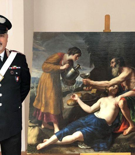 Un tableau de Poussin volé en France par les nazis retrouvé en Italie
