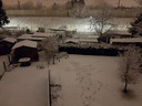 Sneeuwtafereel in Ekeren.