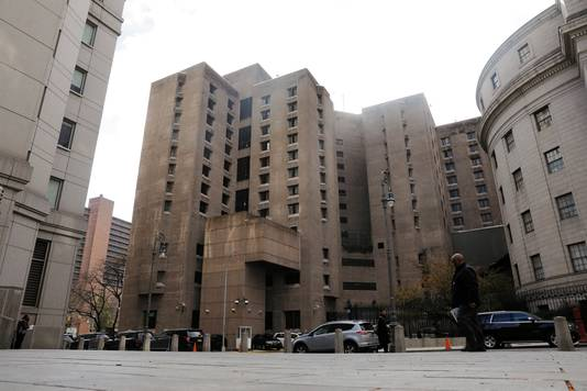 The Metropolitan Correctional Center, waar Epstein vast zat.
