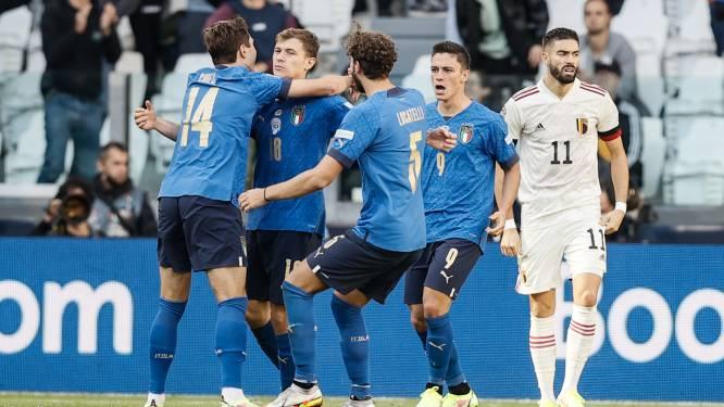 Pas de revanche et pas de consolation: la Belgique battue par une Italie diablement efficace
