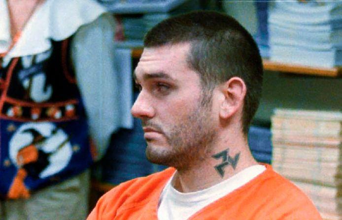 Daniel Lewis Lee, een 47-jarige white supremacist die voor het eerst in 17 jaar tijd een dodelijke injectie toegediend kreeg.
