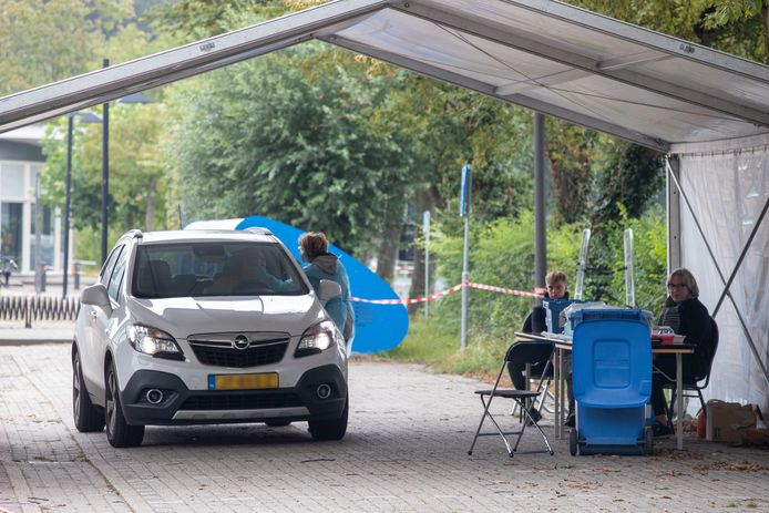 Wageningen heeft zijn eigen teststraat sinds donderdag.