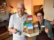 Steeds meer liefhebbers beginnen eigen koffiemerk: Linda en Marcel startten in coronatijd