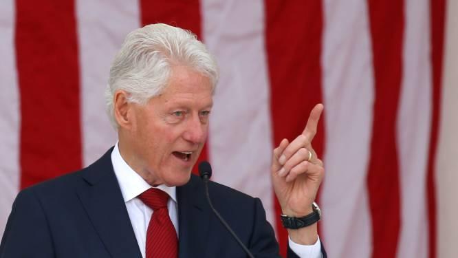 Voormalig Amerikaans president Bill Clinton (75) in ziekenhuis opgenomen