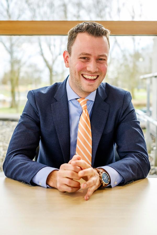 Burgemeester Robbert-Jan van Duijn.