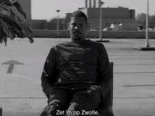 Rapper Rico steekt Zwolle hart onder de riem in emotioneel filmpje: 'Ik voelde dat dit nodig was'