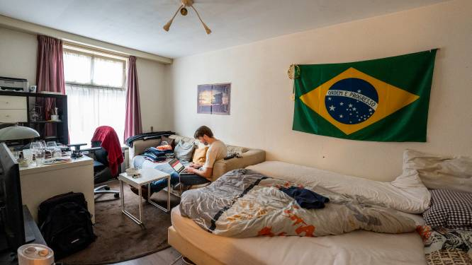Libanese Milo woont in een hotel, Milan uit Duitsland in een tent: internationale studenten zoeken kamers in Den Bosch