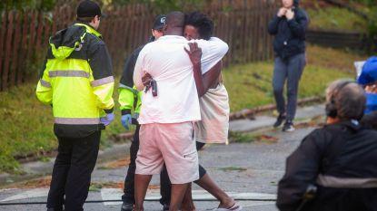 Orkaan Florence laat spoor van vernieling achter en maakt zeker vijf slachtoffers: vrouw en kind komen om door vallende boom