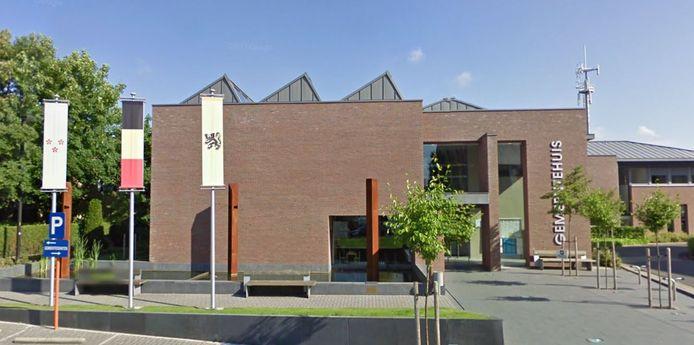 Het gemeentehuis van Ardooie.