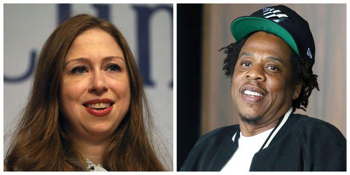Chelsea Clinton is het niet eens met de reactie van Jay-Z