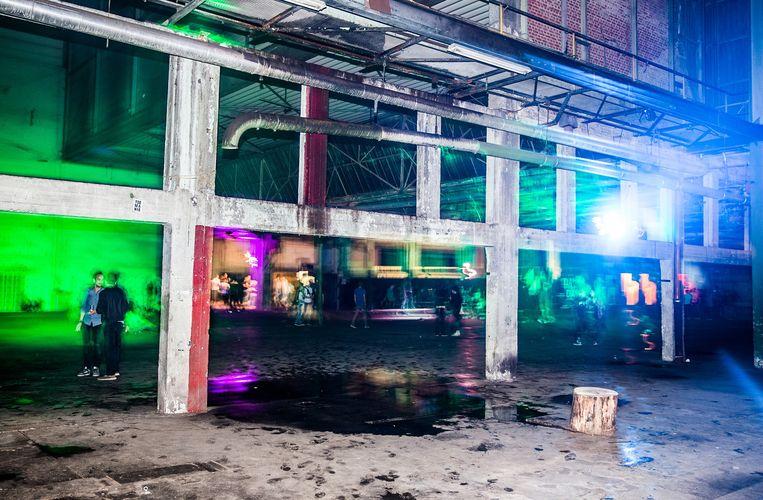 Voor de Gentse Kompass Club gaat het verhaal van gentrificatie niet op: die club is al gevestigd in een industriële zone. Beeld ID/ photo agency Sander Buyck