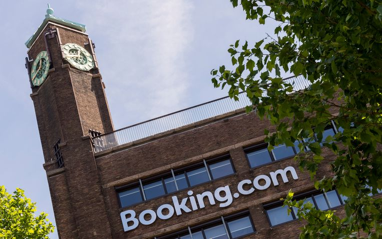 The Booking.com office in Amsterdam. Beeld ANP