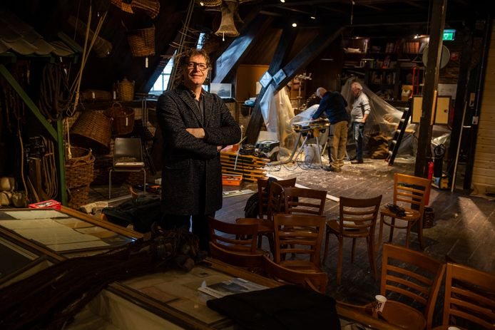 Als er niet snel iets gebeurt, is er na de coronacrisis geen visserijmuseum meer in Woudrichem, aldus Arjens van Gammeren, voorzitter van het museum.