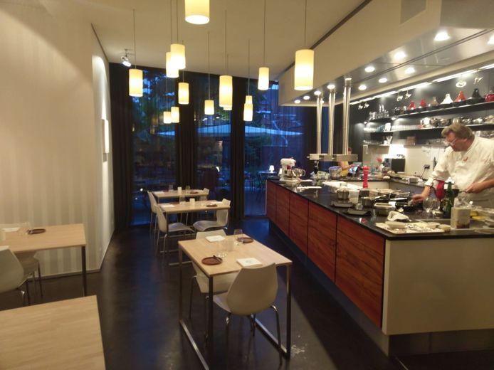 De open keuken van Dirkjan.