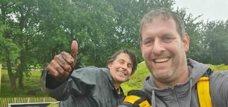 Voor één keer niet achter de schermen: Sander (43) is de groene schim van tv-tuinman Lodewijk Hoekstra