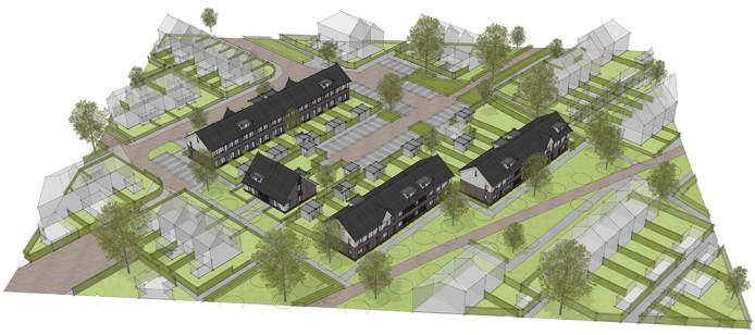 Op de plek van de voormalige Willem-Alexanderschool in Heerde komen 24 woningen.