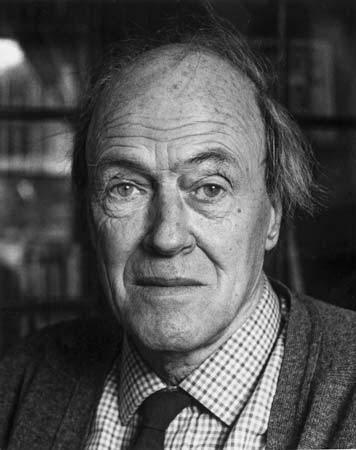 De Britse schrijver Roald Dahl.