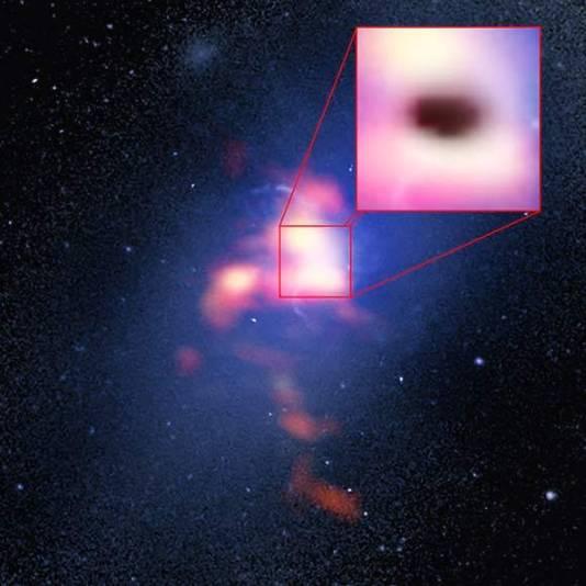 B. Saxton (NRAO/AUI/NSF); G. Tremblay et al.; NASA/ESA Hubble; ALMA (ESO/NAOJ/NRAO)