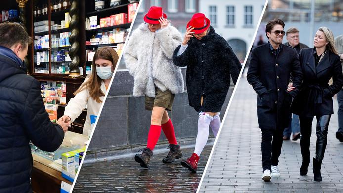 Het coronavirus in Italië, storm legt carnaval plat en André en Bridget uit elkaar