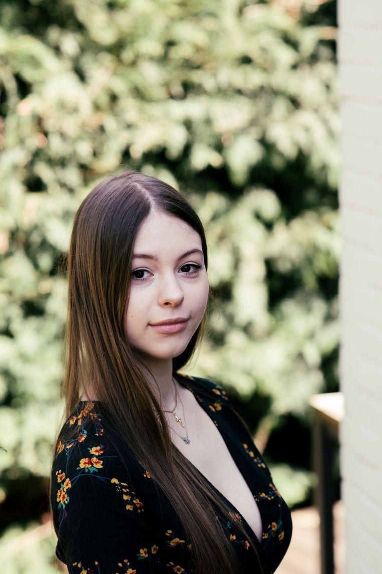 Taïsa Colson, tweede jaar klassiek piano, conservatorium Maastricht: 'Het voelt alsof al die grote kansen waar ik jaren naartoe heb gewerkt me ontnomen zijn.' Beeld Tine Schoemaker