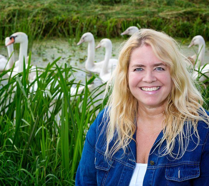 Saskia van Rooy uit Stolwijk.