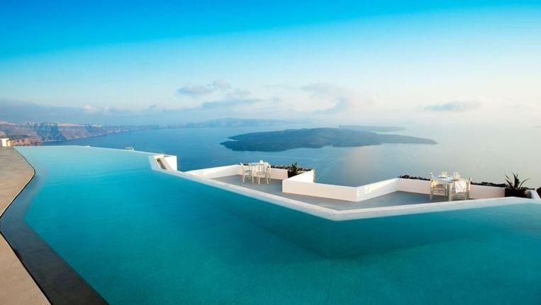 Hotel Grace op het Griekse eiland Santorini Beeld kos