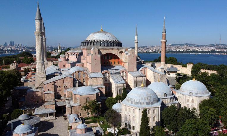 Hagia Sophia in Istanbul. Beeld REUTERS