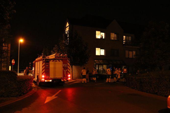 Verschillende ambulances kwamen ter plaatse.