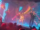 Yorka in één van de nummers van het Eurovisiesongfestival.