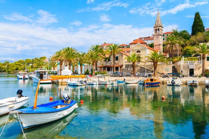 Kroatië - Haven van Brac