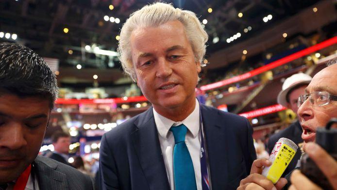 Geert Wilders in Cleveland.