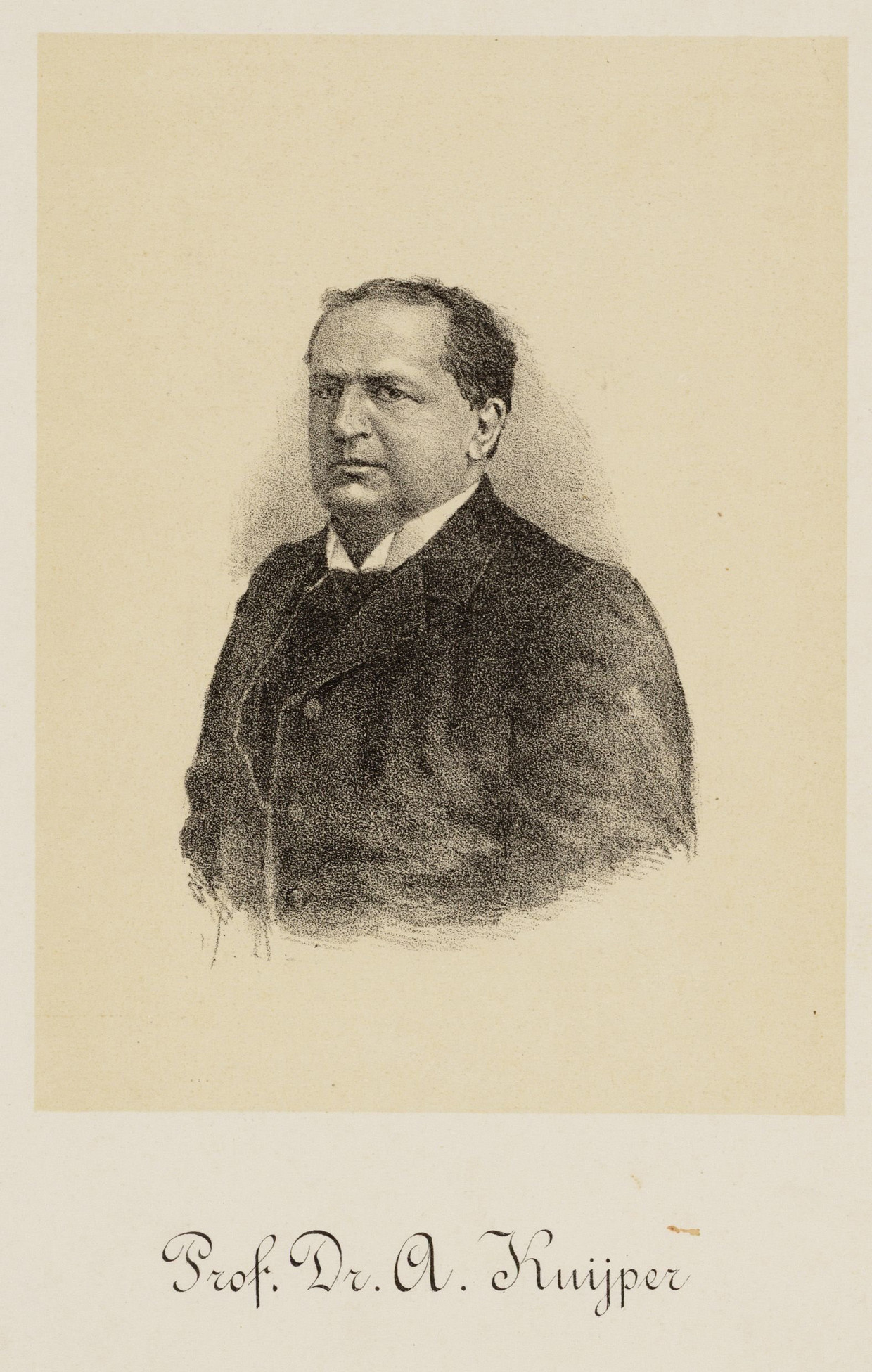 Abraham Kuyper. Beeld Stadsarchief Amsterdam