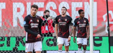 Feyenoord komt na dramatische start goed weg met gelijkspel in Enschede