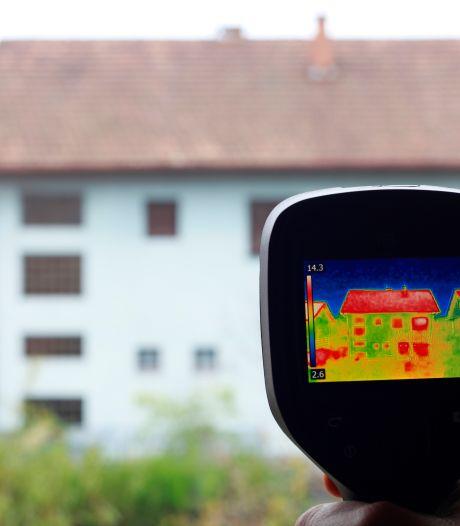 Warmtescan van 1246 Hilversumse woningen voor isolatieadvies
