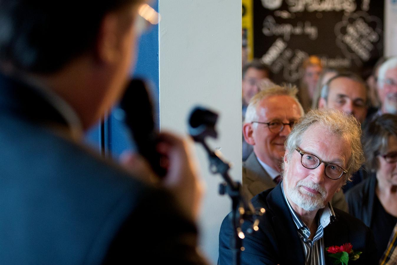 Ron Lodewijks bij zijn afscheid van het Brabants Dagblad in 2015.