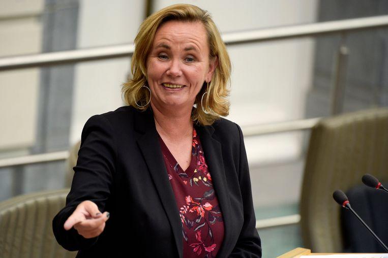 Vlaams minister van Binnenlands Bestuur Liesbeth Homans (N-VA). Beeld Photo News