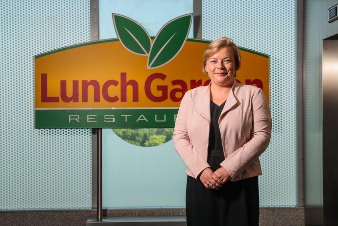 """Lunch Garden-CEO Ann Biebuyck: """"Tijdens het voorbije 2020 is door corona zeker twee derde van onze normale omzet weggevallen."""""""