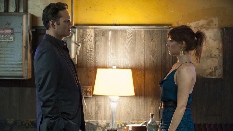 Crimineel Frank en zijn vrouw Jordan. Beeld HBO