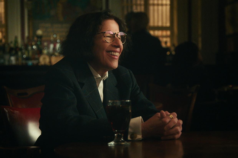 Fran Lebowitz, cassant en ongemeen grapping in 'Pretend It's a City'. Beeld Netflix