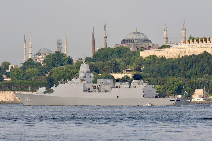 Het kanaal maakt van een deel van Istanbul een eiland