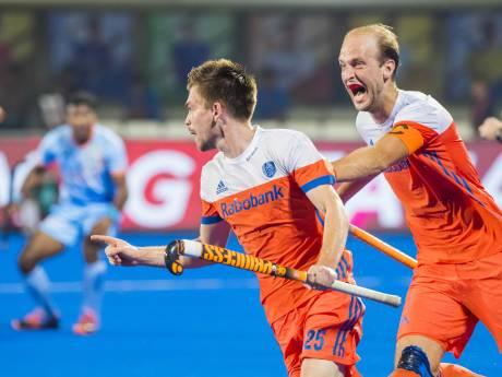 Hockeyers kloppen gastland India in zinderende kwartfinale