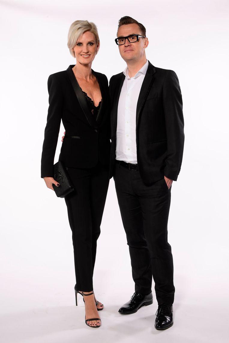 Nick Nuyens & Lynn Peeters.