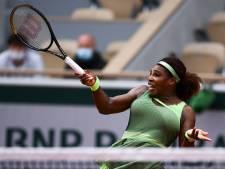 Serena Williams sinds 2018 weer in vierde ronde in Parijs