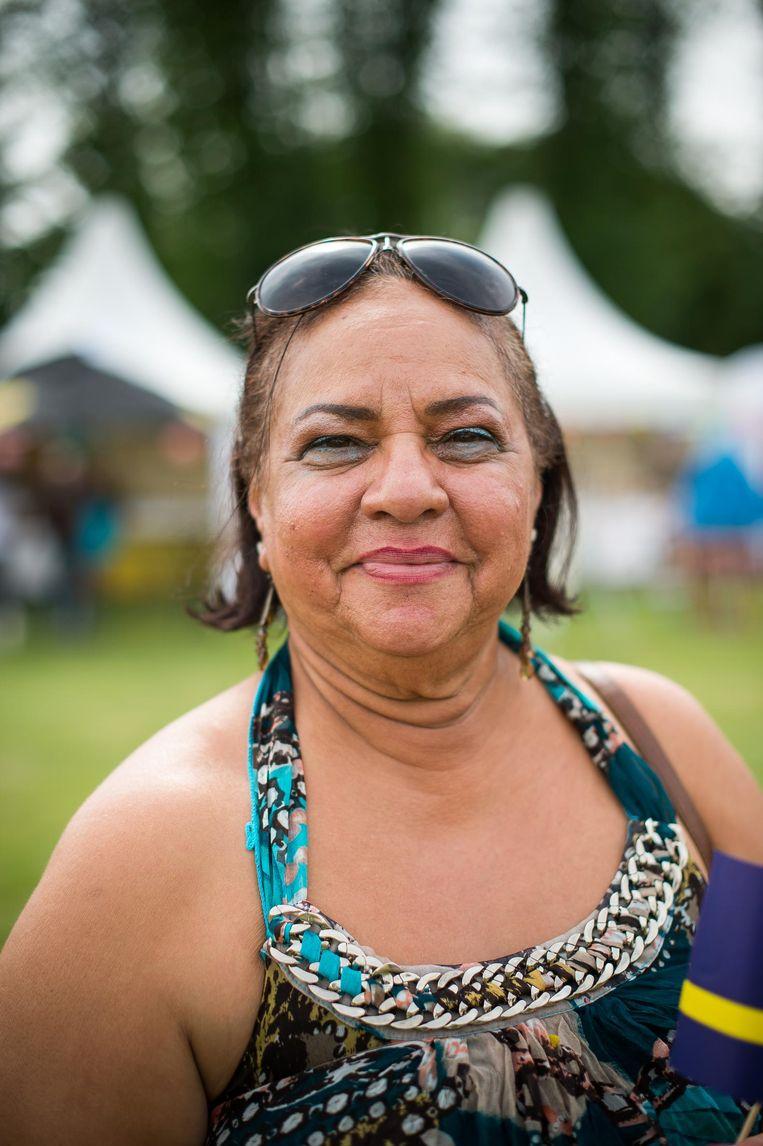 Dorothy Leander, 69 jaar oud. Beeld Mats van Soolingen