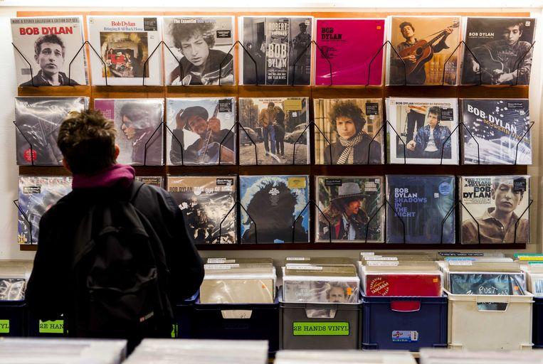 Bob Dylan grijpt in zijn albums terug naar het format van de talking blues wanneer hij het uitvoerig over een onderwerp wil hebben. Beeld ANP