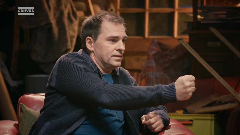 Luc Haekens in 'Het leven.doc' Beeld VRT